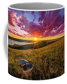 Sunset Over Lake Oahe Coffee Mug