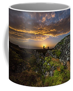 Sunset Over Marsh Coffee Mug by Joe Belanger