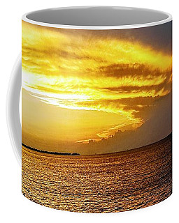 Sunset Over Mobile Bay Coffee Mug