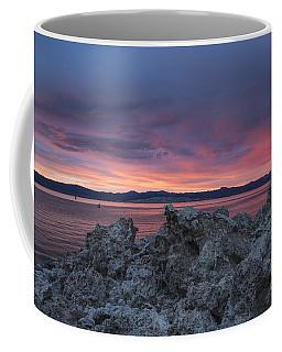 Coffee Mug featuring the photograph Sunset Over Mono Lake by Sandra Bronstein