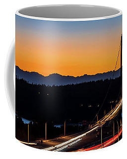 Sunset Over Narrrows Bridge Panorama Coffee Mug