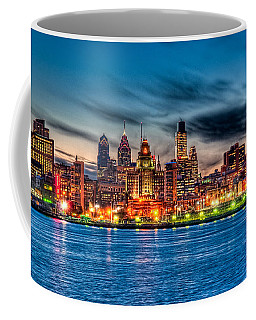 Sunset Over Philadelphia Coffee Mug