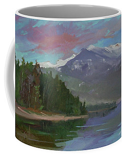Sunset Over Priest Lake, Id Coffee Mug