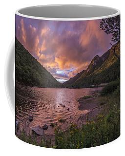 Sunset Over Profile Lake Coffee Mug
