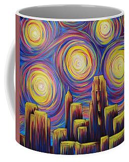 Sunset Over Raleigh Coffee Mug