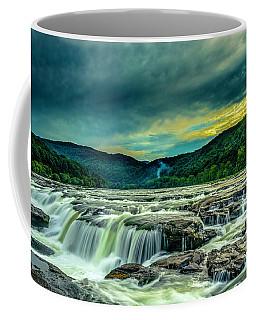 Sunset Over Sandstone Falls Coffee Mug