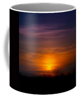 Sunset Over Scuppernong Springs Coffee Mug