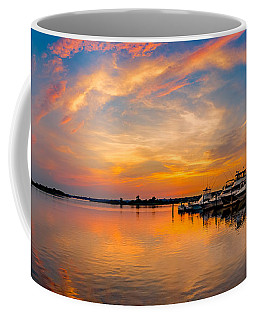 Sunset Over Shrewsbury Bay Coffee Mug