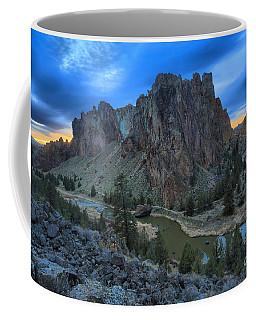 Sunset Over Smith Rock Coffee Mug