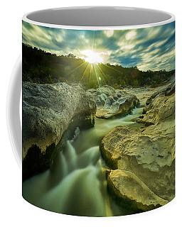 Sunset Over The Cascade Coffee Mug