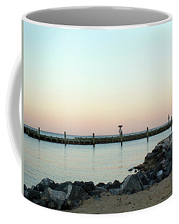 Sunset Over The Chesapeake Bay Coffee Mug