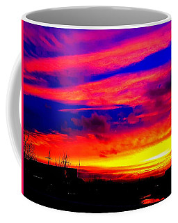 Sunset Over The Clyde Coffee Mug