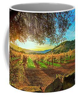 Sunset Over Napa  Coffee Mug
