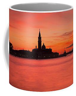 Sunset Over The Grand Canal, Venice, Coffee Mug
