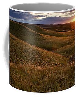 Sunset Over The Kansas Prairie Coffee Mug