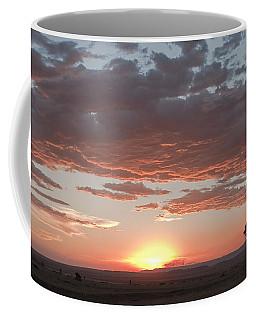 Sunset Over The Mara Coffee Mug