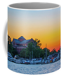 Sunset Over The National War College  Coffee Mug