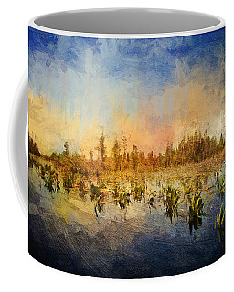 Sunset Over The Okefenokee Coffee Mug