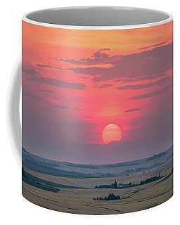 Sunset Over The Plains Coffee Mug