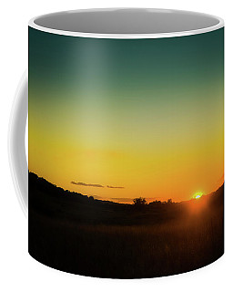 Sunset Over The Prairie Coffee Mug