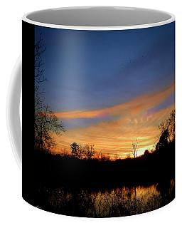 Sunset Over The Sabine 02 Coffee Mug