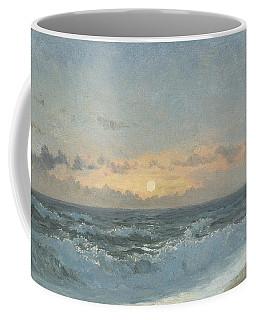 Sunset Over The Sea Coffee Mug