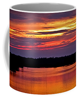 Sunset Over The Tomoka Coffee Mug