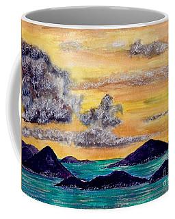 Sunset Over The Virgin Islands Coffee Mug