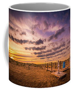 Sunset Over The Walkway. Coffee Mug
