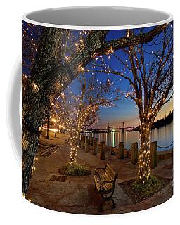 Sunset Over The Wilmington Waterfront In North Carolina, Usa Coffee Mug