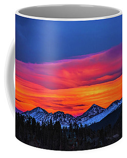 Sunset Over Torreys And Grays Peaks Coffee Mug