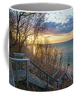 Sunset Overlooking Long Island Sound Coffee Mug