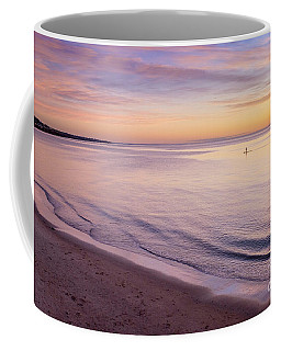 Coffee Mug featuring the photograph Sunset Paddle by Ray Warren