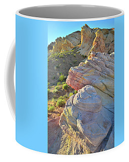 Sunset Pastels In Valley Of Fire Coffee Mug