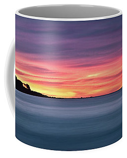 Sunset Penisular, Bunker Bay Coffee Mug by Dave Catley