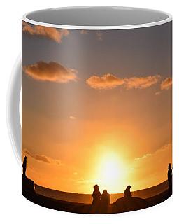 Sunset People In Imperial Beach Coffee Mug