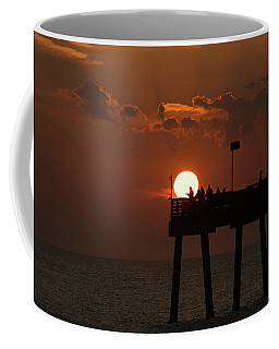 Sunset Pier 2 Venice Florida Coffee Mug