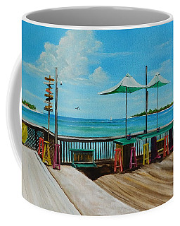Sunset Pier Tiki Bar - Key West Florida Coffee Mug