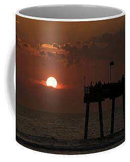 Sunset Pier Venice Florida Coffee Mug