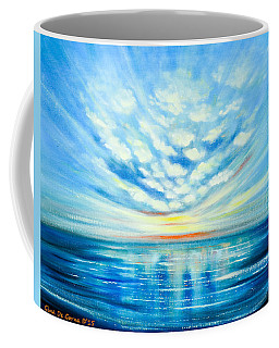 Sunset Quest Blue Coffee Mug