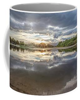 Sunset Reflected Coffee Mug