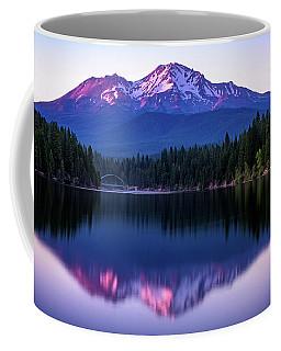 Sunset Reflection On Lake Siskiyou Of Mount Shasta Coffee Mug