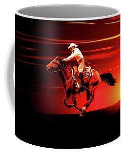 Sunset Rider Coffee Mug