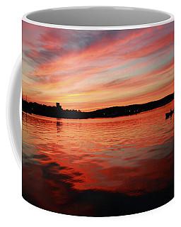 Sunset Row Coffee Mug