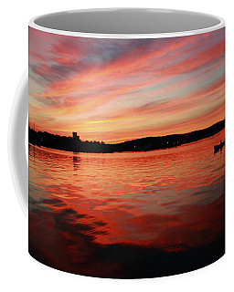 Sunset Row Coffee Mug