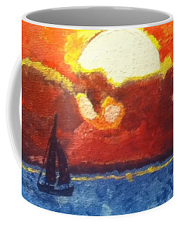 Sunset Sail Coffee Mug