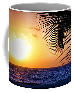 Sunset Salute In Aruba Coffee Mug