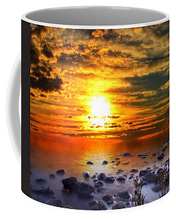 Sunset Shoreline Coffee Mug