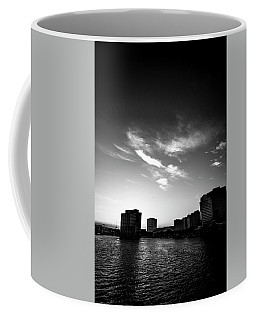 Coffee Mug featuring the photograph Sunset Silhouette by Eric Christopher Jackson