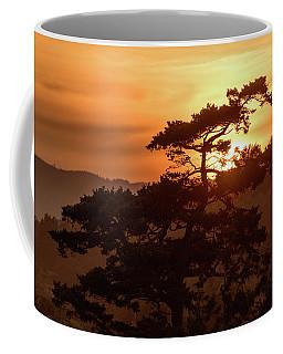 Sunset Silhouette Coffee Mug by Keith Boone
